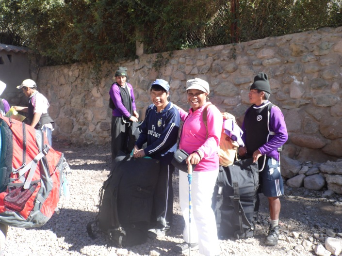 Our wonderful porters